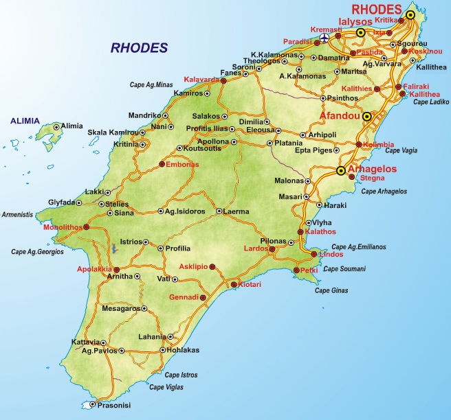 Rhodes Tourism Info Web Sites